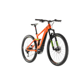 Cube Stereo Hybrid 120 Race 500 E-MTB Full Suspension orange
